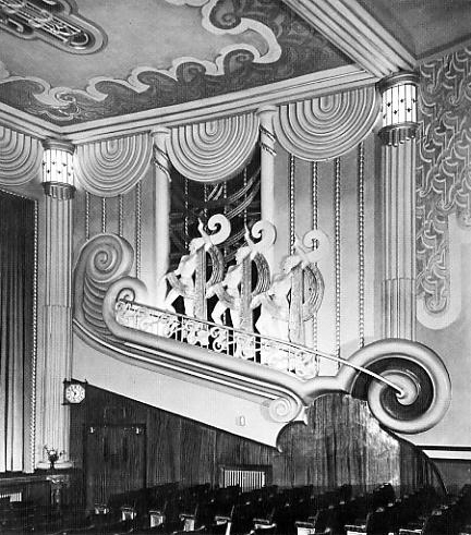 The northwick cinema art deco ladies kasia charko for Original art deco interiors