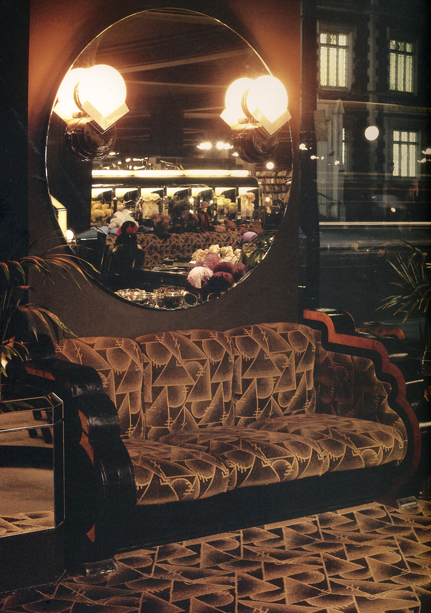Big biba opens september 10th 1973 kasia charko for Art deco interior shop